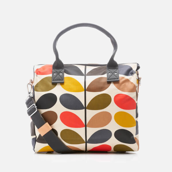 Orla Kiely Women's Stem Zip Messenger Bag - Multi