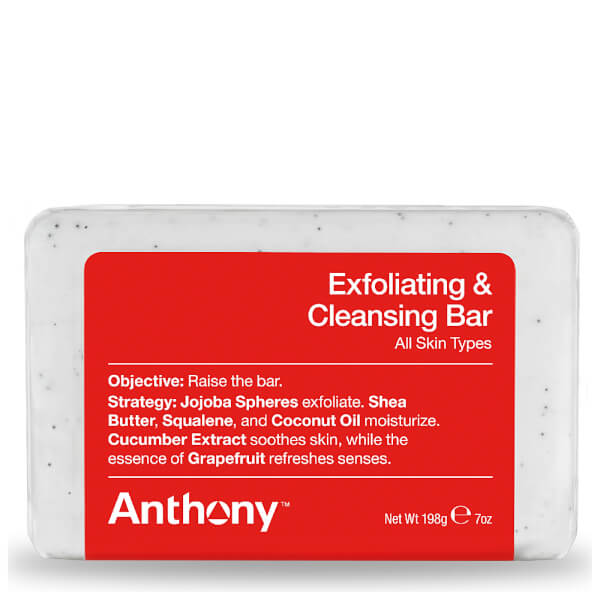Anthony Exfoliating and Cleansing Bar 198g