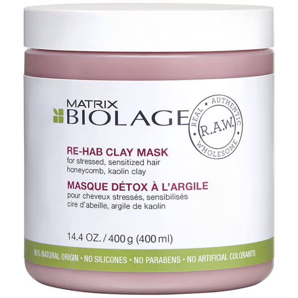 Matrix Biolage R.A.W. Re-Hab Clay Mask 14.4oz