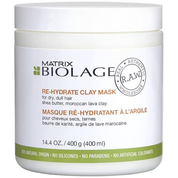 Matrix Biolage R.A.W. Re-Hydrate Clay Mask 14.4oz