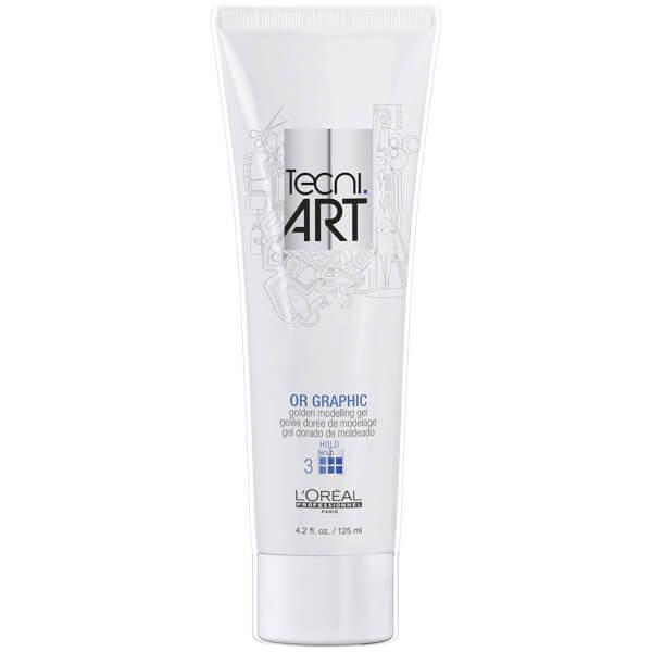 L'Oréal Professionnel Tecni.ART Or Graphic Modelling Gel 4.2 fl oz