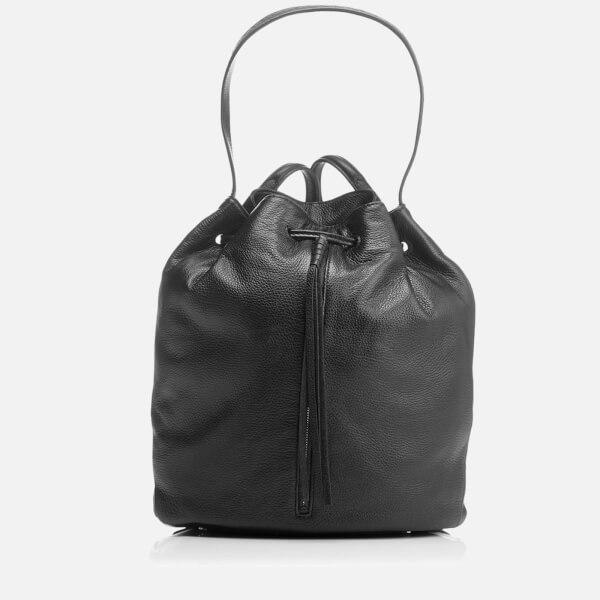 Elizabeth and James Women's Finley Sling Bucket Bag - Black