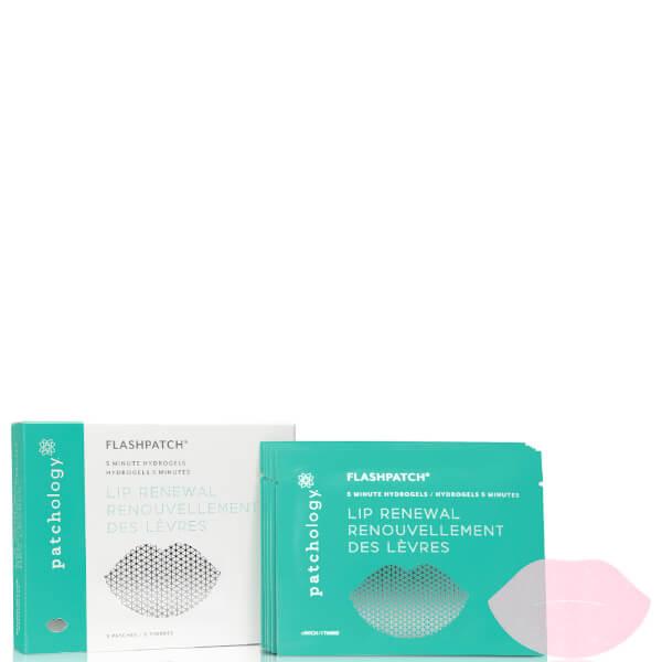 Patchology FlashPatch Lip Gels - 5 Pairs/Box