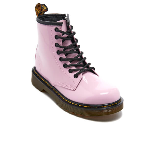 Dr Martens Delaney Junior Baby Pink Patent 33 EU KpAp3cKms