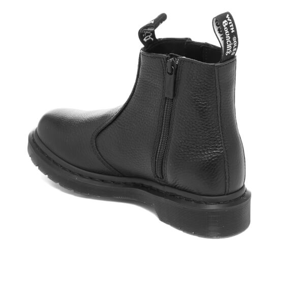 4c096c136b Dr. Martens Women's 2976 Aunt Sally Leather Zip Chelsea Boots - Black:  Image 4