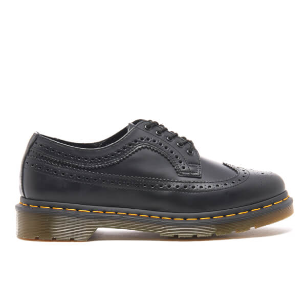 Dr. Martens Men's 3989 Original Archives Smooth Wingtip Brogues - Black