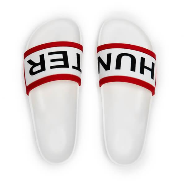 Hunter Men's Original Slide Sandals - White