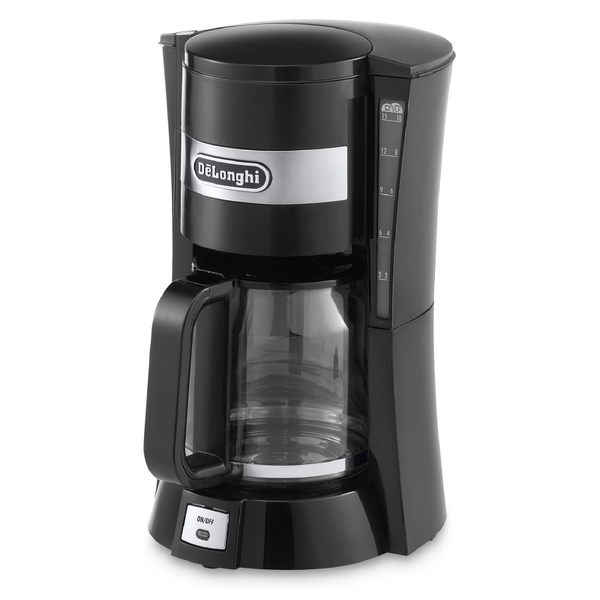 Delonghi Filter Coffee Maker : De Longhi ICM15210 Filter Coffee Maker - Black IWOOT