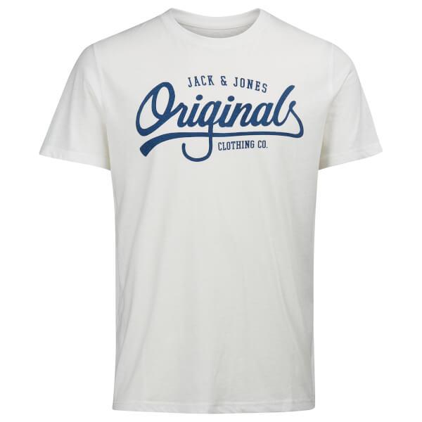 Jack & Jones Men's Originals Jolla T-Shirt - White