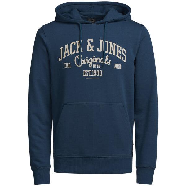 Jack & Jones Originals Men's Diego Hoody - Ensign Blue