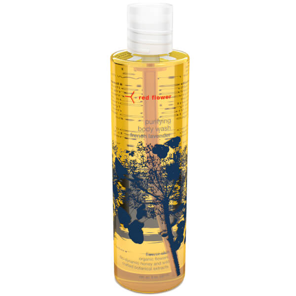 Red Flower French Lavender Purifying Body Wash
