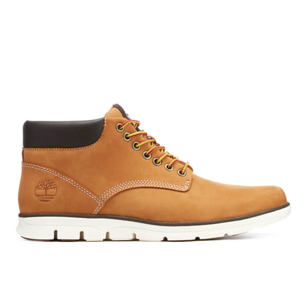 155c6c883513 Timberland Men s Bradstreet Chukka Leather Boots - Wheat  Image 1