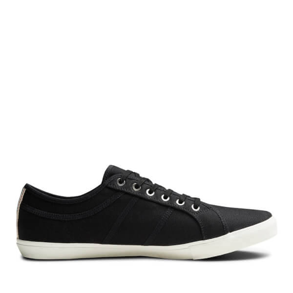 Jack & Jones Men's Ross Pre Canvas Trainers - Anthracite
