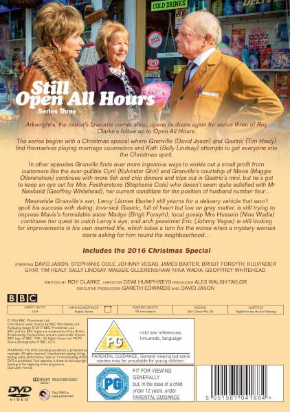 Still Open All Hours Series 3 Dvd Zavvi