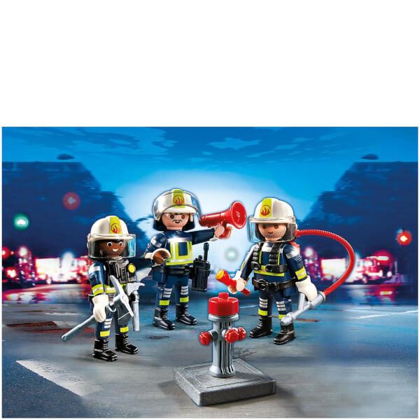 Unité de pompiers -Playmobil (5366)