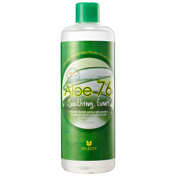 Mizon Aloe 76 Soothing Toner 500ml