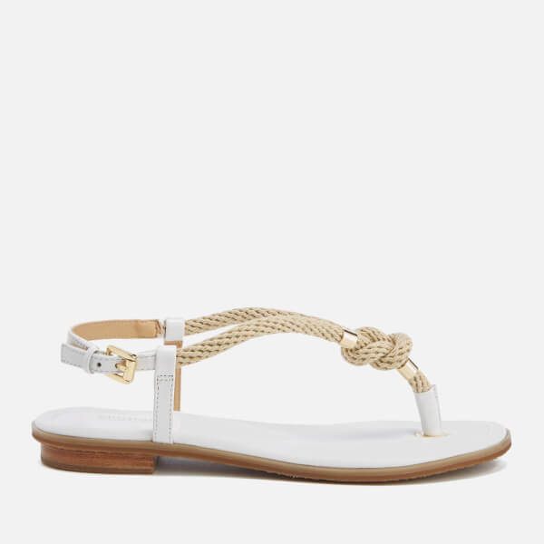 MICHAEL MICHAEL KORS Women's Holly Rope Strap Sandals - Optic White: Image 1