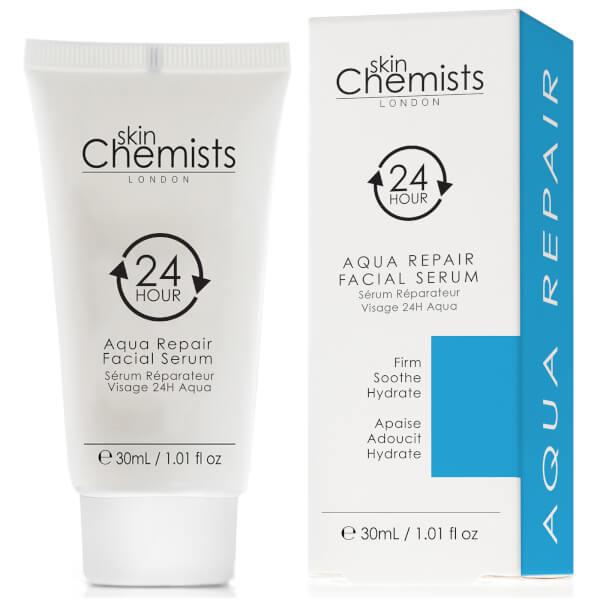 skinChemists 24H Aqua Repair Facial Serum 30ml