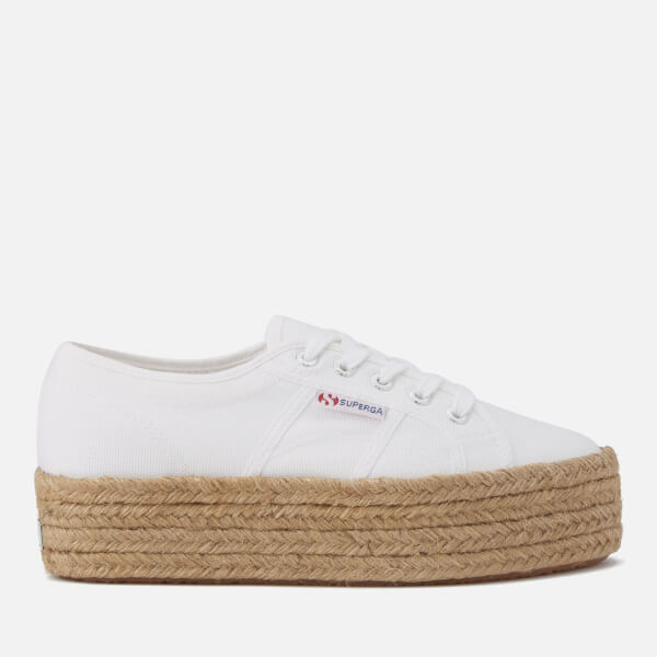 Superga Women's 2790 Cotropew Flatform Espadrille Trainers - - UK 8 Mc8iFmG