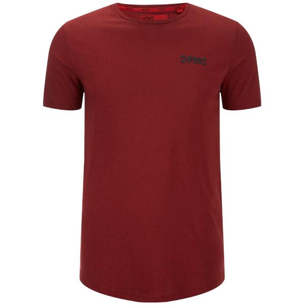 Dfnd Men S Base Logo T Shirt Red Clothing Zavvi Australia