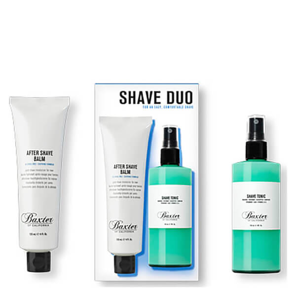 Baxter of California Shave Duo Set: After Shave Balm and Shave Tonic