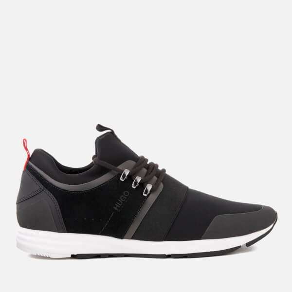 HUGO Men's Hybrid Runn Trainers - Black