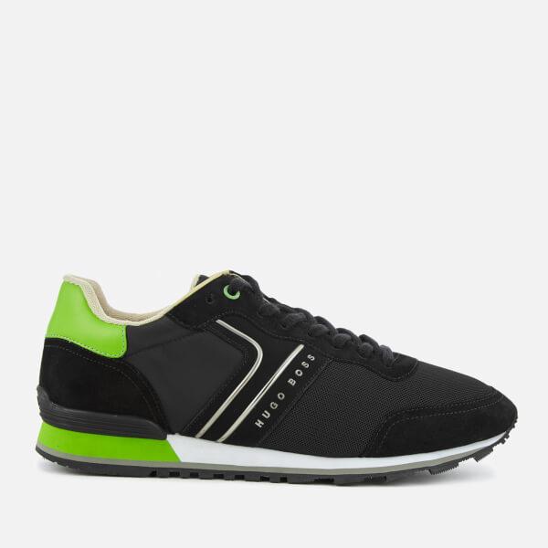 BOSS Green Men's Parkour Runn Trainers - Black
