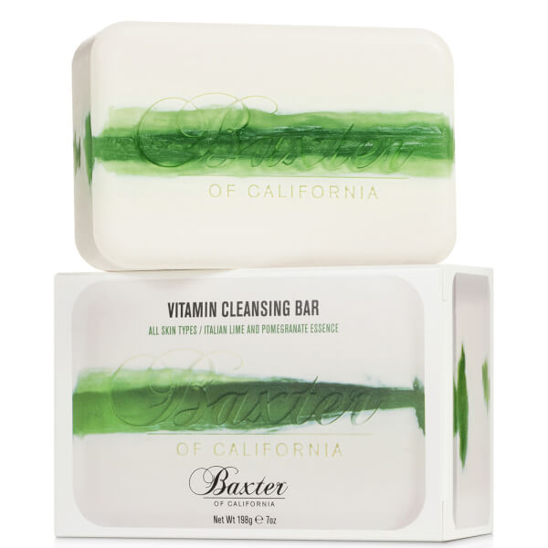 Baxter of California Vitamin Cleansing Bar Italian Lime Pomegranate 7oz