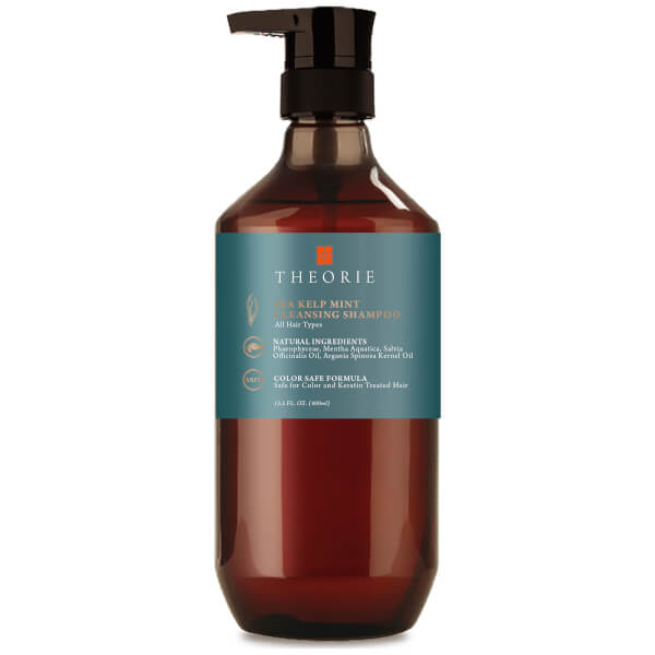 Theorie Sea Kelp Mint Cleansing Shampoo - 13.5 fl oz