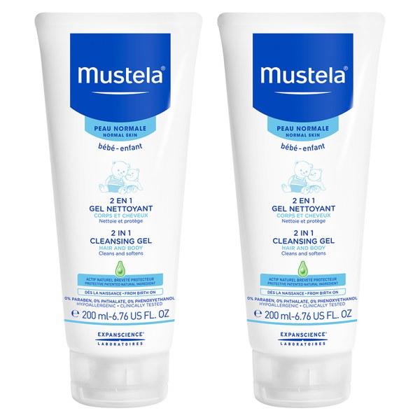 Mustela Gentle Cleansing Gel Pack of 2
