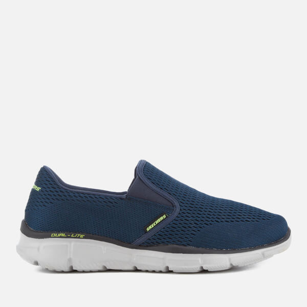 Skechers Men's Equalizer Double-Play Trainers - Navy
