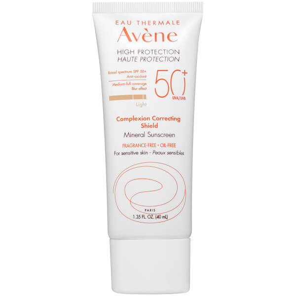Avène High Protection Complexion Correcting SPF50+ Shield - Light