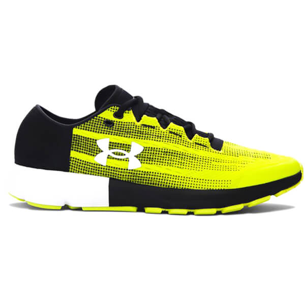 Under Armour Men S Speedform Velocity Running Shoes Smash Yellow Black
