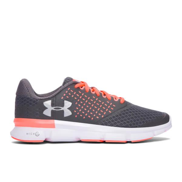 Women's Under Armour Micro G Speed Swift Women's Running Shoes Grey/Orange