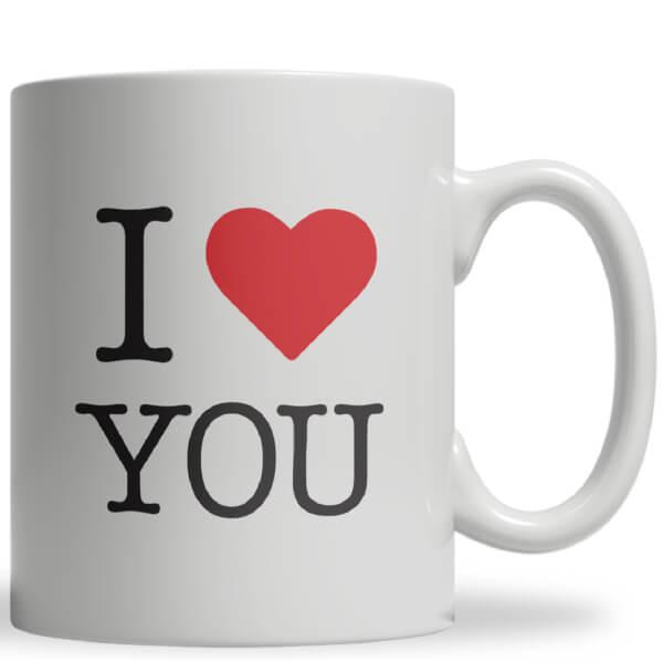 I Heart You Ceramic Mug