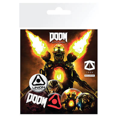 Doom Badge Pack