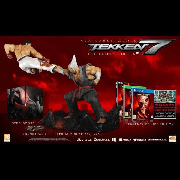 Tekken 7 Collectors Edition - Includes Eliza Vampire DLC