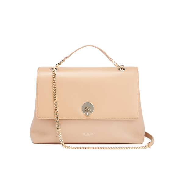 64b8752068b816 Ted Baker Women s Millie Chain Circle Lock Shoulder Bag - Taupe  Image 1