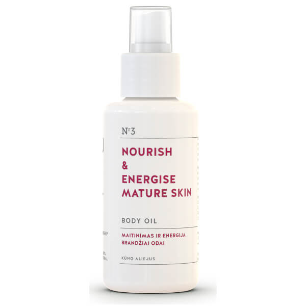 You & Oil Nourish & Energise Body Oil for Mature Skin 100ml