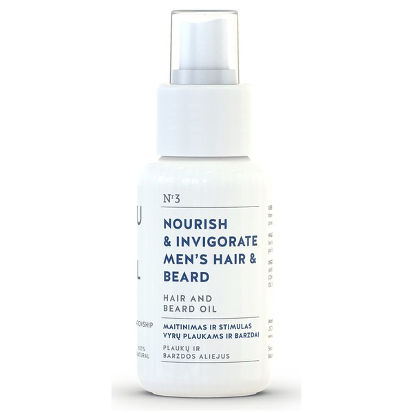 You & Oil Nourish & Invigorate Hair and Beard Oil 50ml