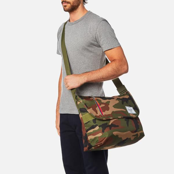Herschel Supply Co. Odell Messenger Bag - Woodland Camo Multi Zip  Image 3 2ef35103fea6b