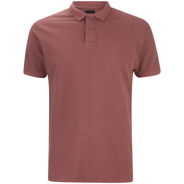 Threadbare Men's Kerman Polo Shirt - Burgundy