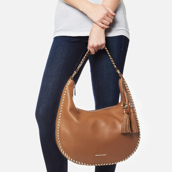 589a3cac8a0e MICHAEL MICHAEL KORS Women s Lauryn Large Shoulder Bag - Acorn  Image 3