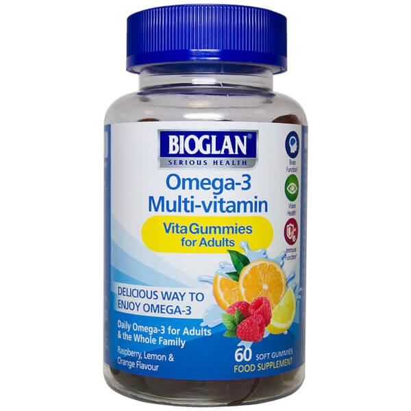 Bioglan Adult Omega-3 VitaGummies - 60 Gummies