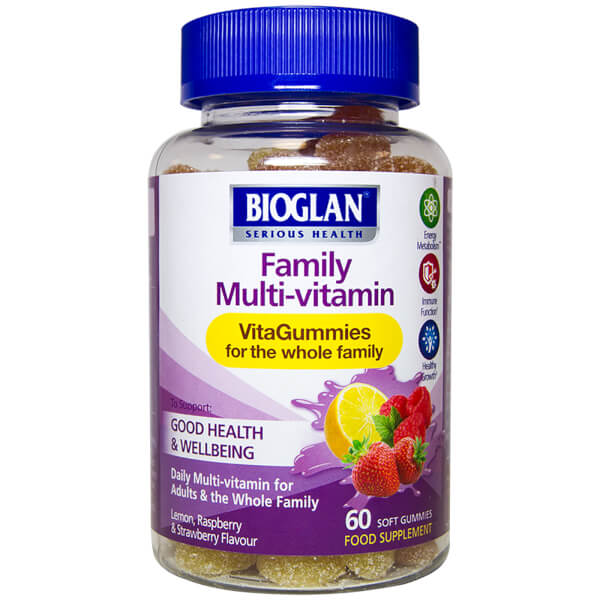 Bioglan Adult Vita Family Multivitamin Gummies - 60 Gummies