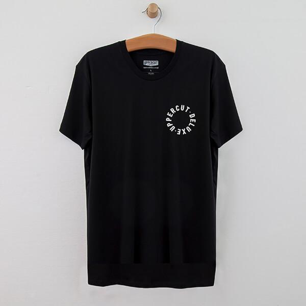 Uppercut Stay Bold Script T-Shirt - Black/White Print