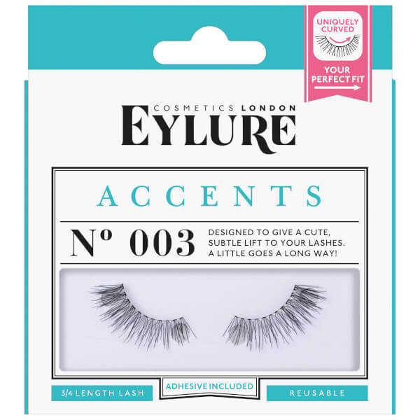 Eylure Accent No003 Eyelashes Free Us Shipping Lookfantastic
