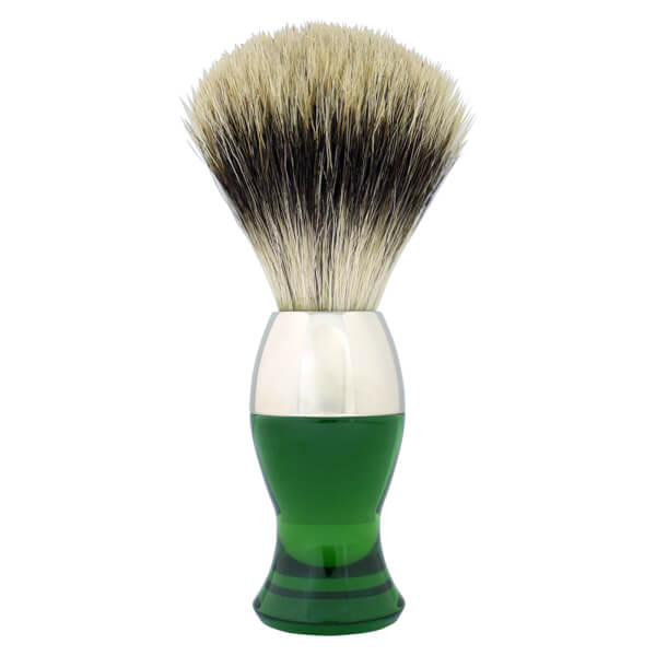 eShave Finest Badger Nickel Short - Green