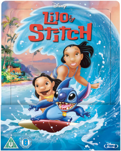 Lilo & Stitch - Zavvi Exclusive Lenticular Edition Steelbook