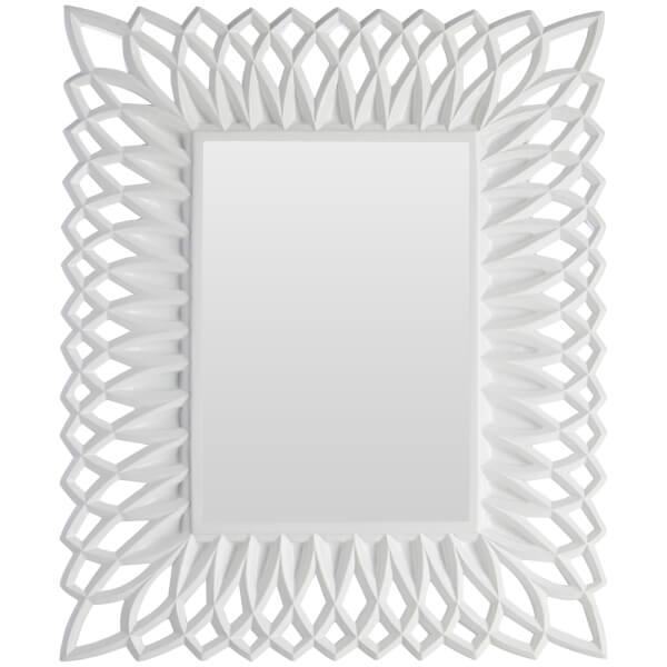 Cadre Photo Torsadé 13 cm x 18 cm -Blanc Brillant